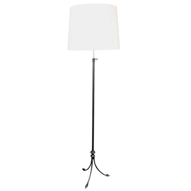1960s 'Tete de Cygne' Floor Lamp by Maison Jansen 1