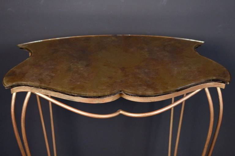1940s Console by Rene Drouet In Good Condition In Saint-Ouen, FR