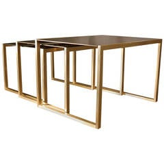 1970s Set of Nested Tables