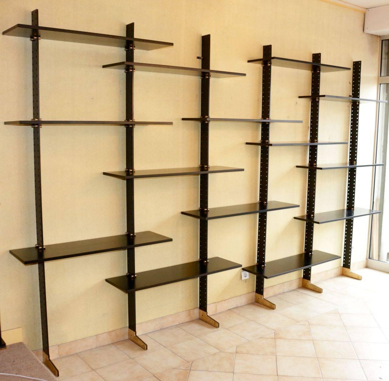 Grande biblioth que etag re lb2 by ignazio gardella - Castorama bibliotheque etagere ...