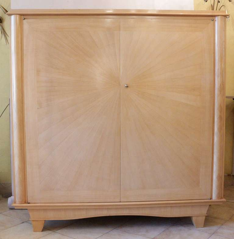 1940 39 s low armoire soleil from faubourg saint antoine at - Meubles faubourg saint antoine ...