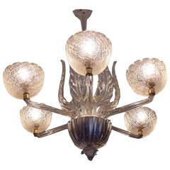 Murano Chandelier by Barovier & Toso, 1940