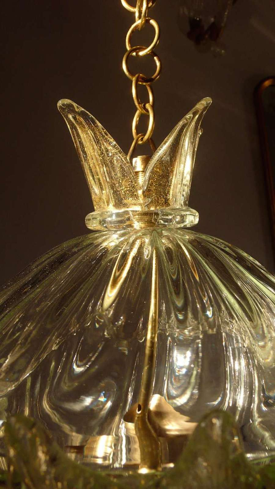 Barovier e toso chandelier the queen 1940 at 1stdibs for Barovier e toso