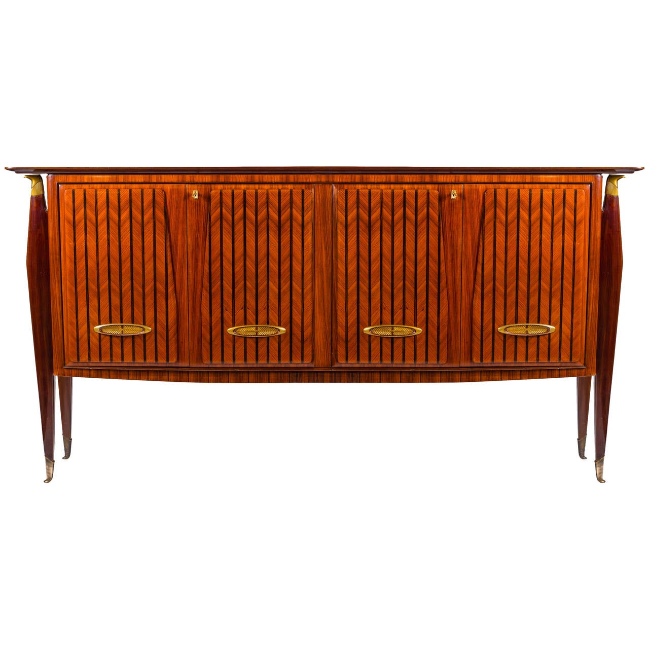 Italian Design Mid-century Sideboard or Bar in the Style of Paolo Buffa, 1950s