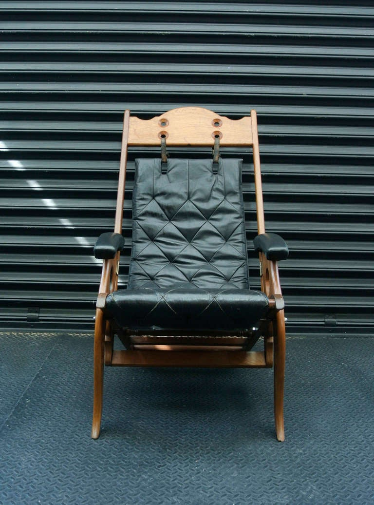 Rare Boat Easy Chair at 1stdibs