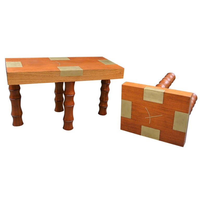 Mexican Coffee Table Set At 1stdibs