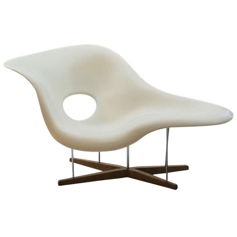 La chaise by charles eames at 1stdibs - Charles eames chaise ...