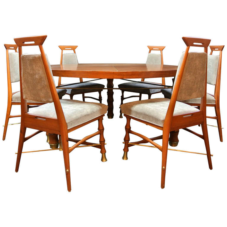 Mexican Dining Set at 1stdibs : 1229152l from www.1stdibs.com size 768 x 768 jpeg 57kB