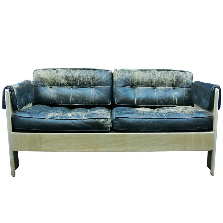 Molded Plywood Couch At 1stdibs