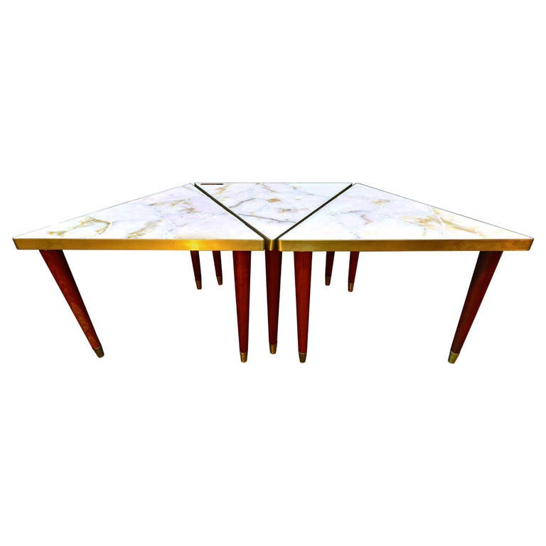 Muller Set Of Three Coffee Table At 1stdibs