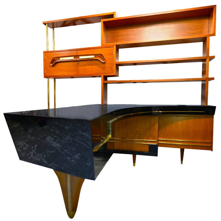 Desk Office Set With Amazing Desk At 1stdibs