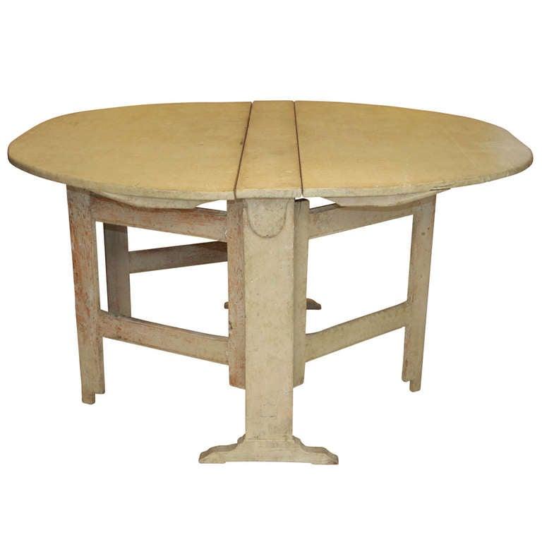 pine gate leg table 2