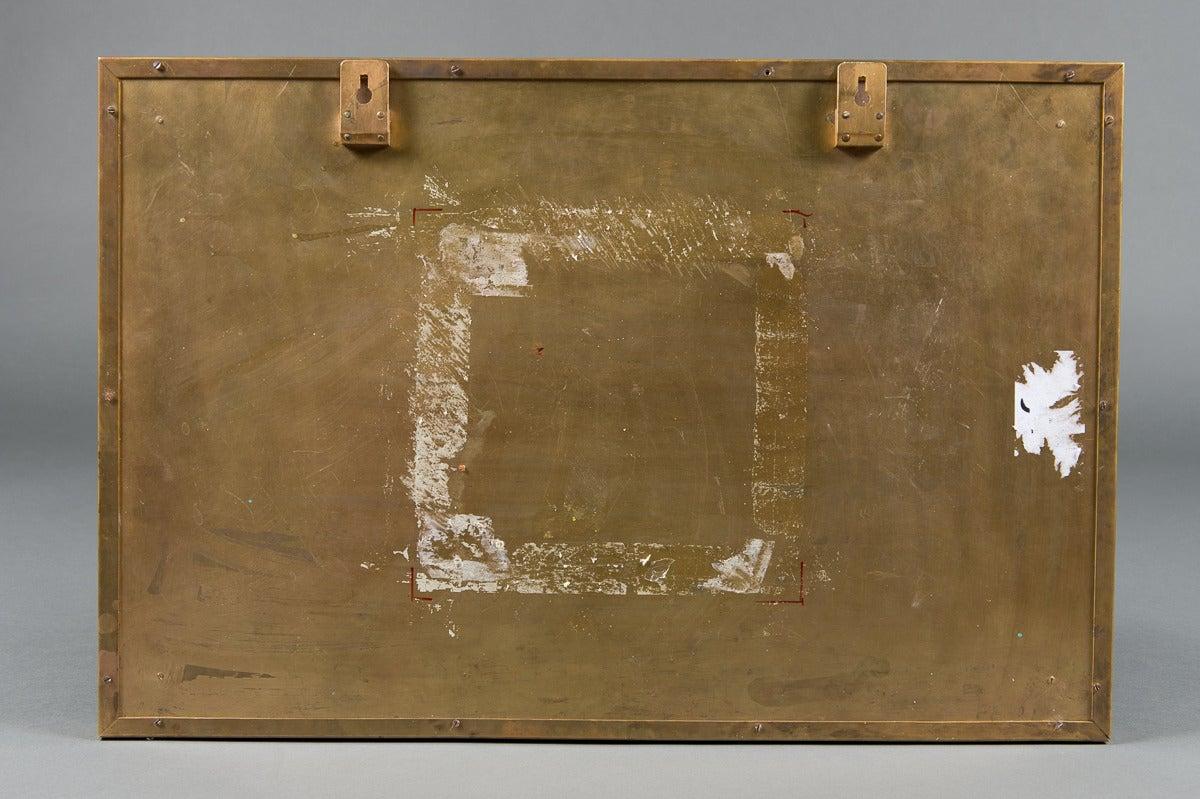 Antique Sevres Style plaque -