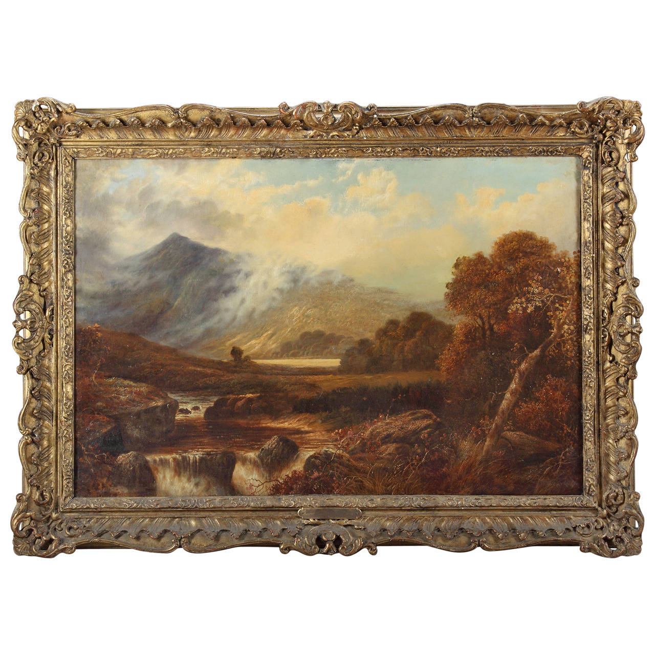 Continental Oil on Canvas Depicting Landscape, Circle of James Stark (1792-1859)