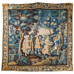 Very Fine Late 17th Century Allegorical Flemish Brussels Baroque Tapestry
