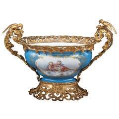 Antique French Sevres Centerpiece