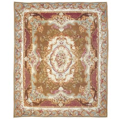 Large and Ornate 19th Century French Aubusson Rug