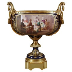Monumental 19th century French Sevres Style Centerpiece