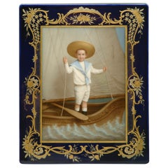 19th Century Meissen Porcelain Plaque