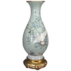 A Monumental French Sevres Pate-Sur-Pate porcelain Vase by: Gely