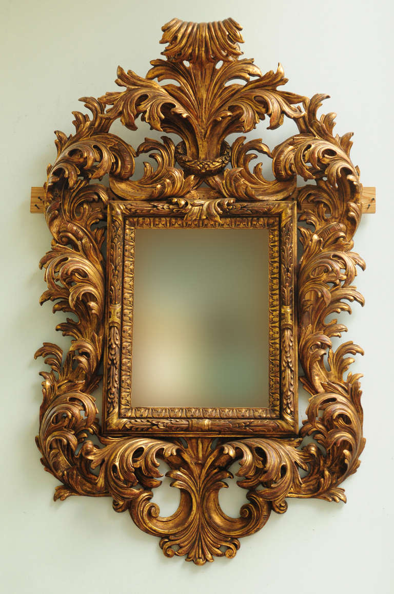 Very Fine Late 19th Century Italian Rococo Style Carved