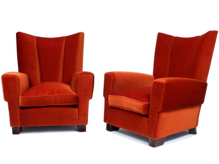 Pair Of Maxime Old Comfortable 268 Armchairs At 1stdibs