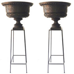 Pair of English Urns, 1860s