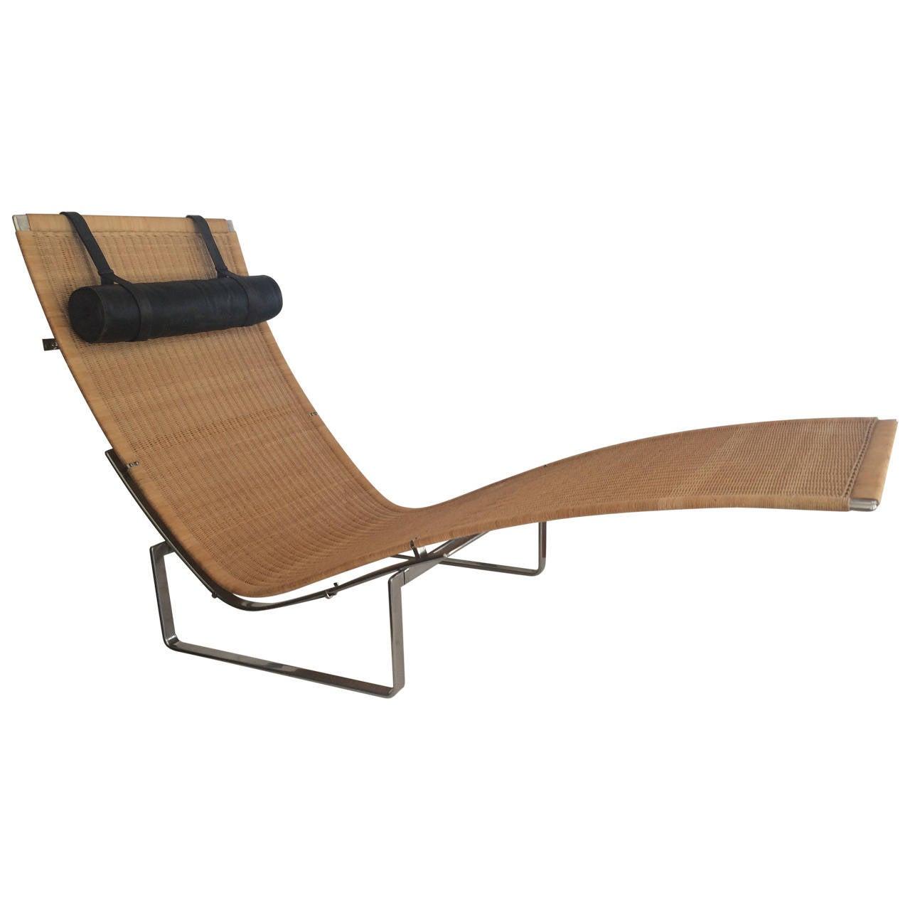 Poul Kjærholm Lounge Chair, PK 24 1