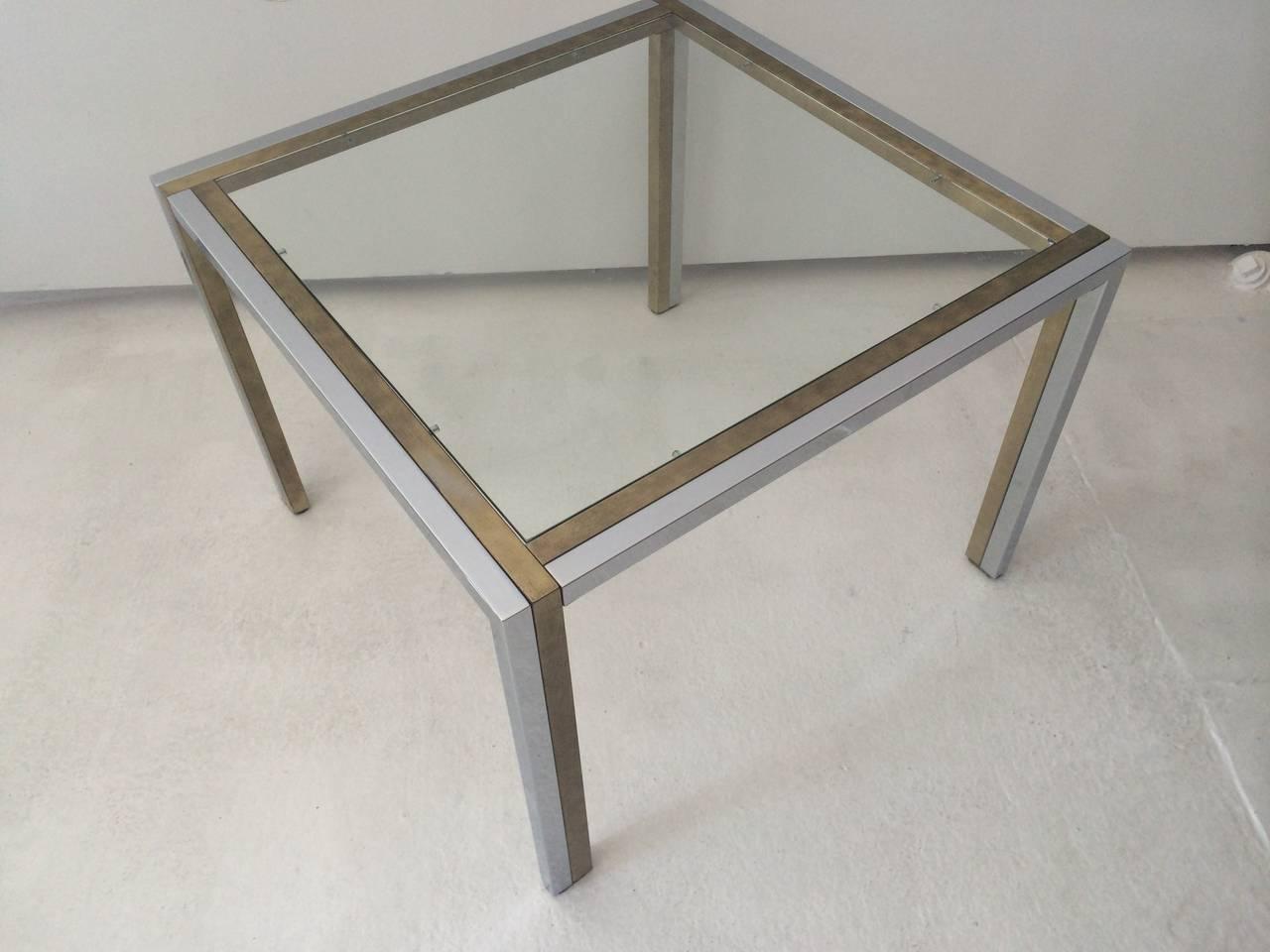 Mid-Century Modern Maison Jansen Table, 1970s For Sale