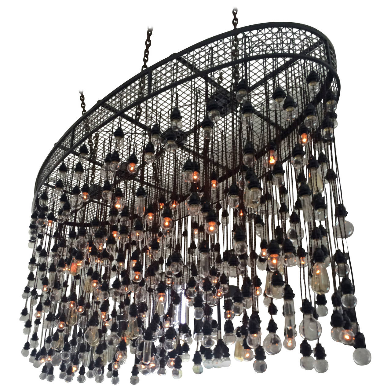 500 bulbs industrial chandelier for sale at 1stdibs 500 bulbs industrial chandelier for sale aloadofball Choice Image