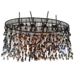 500 Bulbs Industrial Chandelier