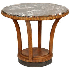 French Empire Style Gueridon Table
