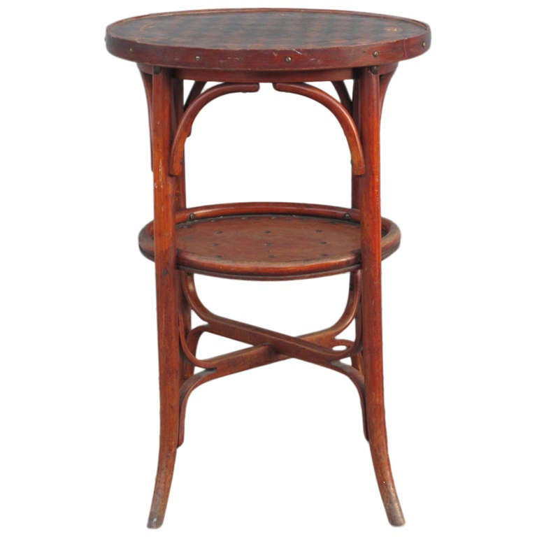 Thonet style bentwood occasional table at 1stdibs for Table thonet