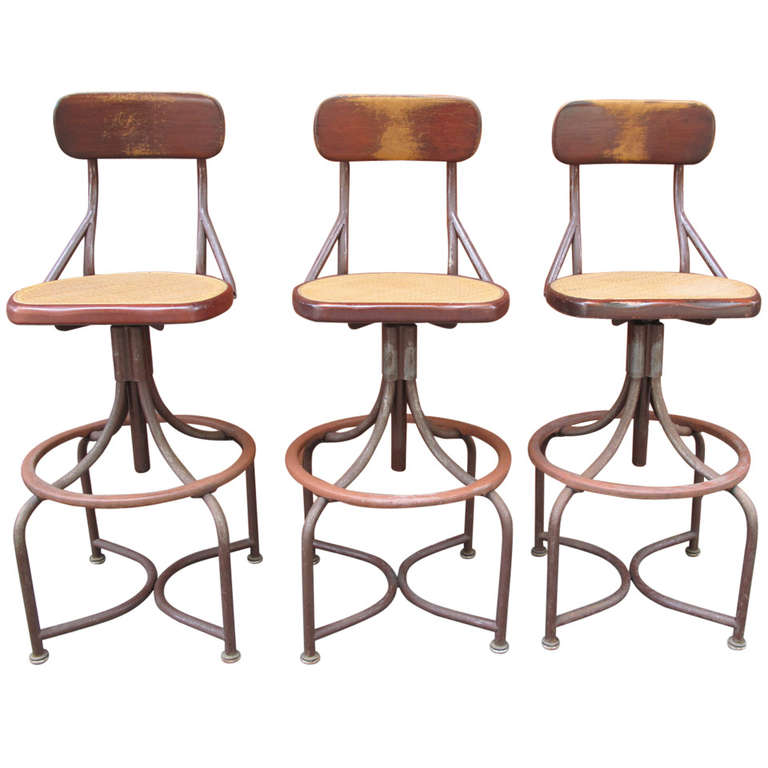 Trio of Western Electric Telephone Operator Stools at 1stdibs : 1199172l from www.1stdibs.com size 768 x 768 jpeg 53kB
