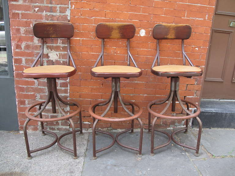 Trio of Western Electric Telephone Operator Stools at 1stdibs : IMG2886l from www.1stdibs.com size 768 x 576 jpeg 64kB
