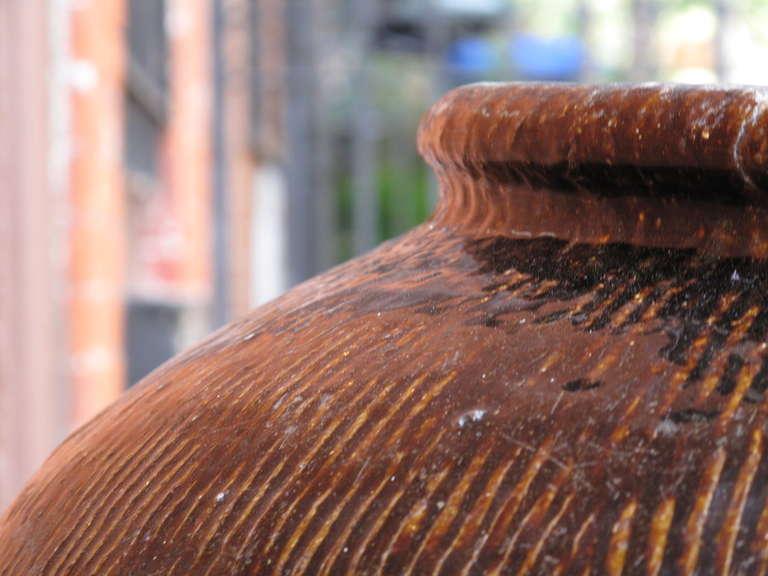 Chinese Glazed Rain Barrel At 1stdibs