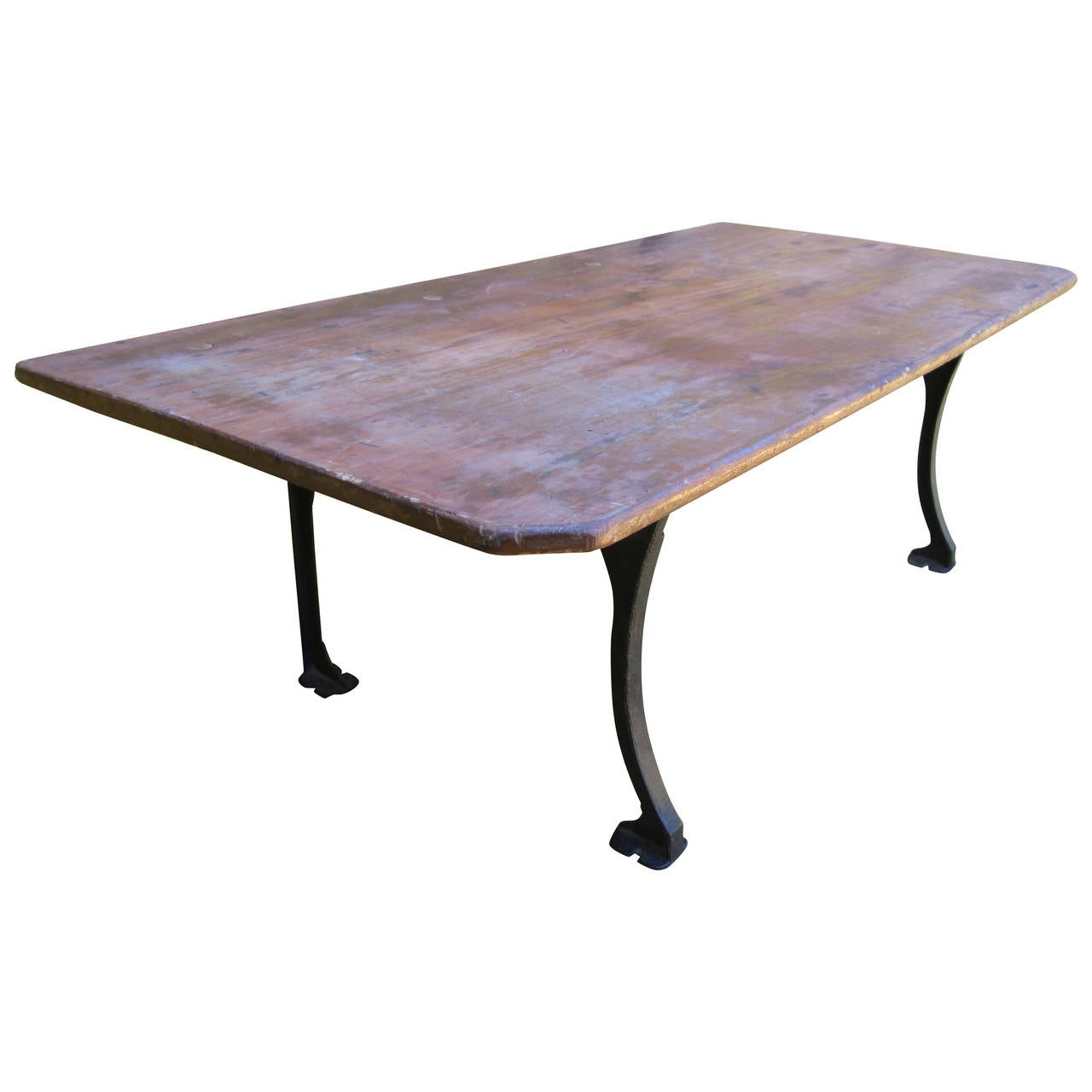 Industrial coffee table at 1stdibs for Coffee tables industrial