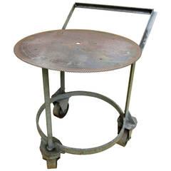 Industrial Metalsmith Push-Cart