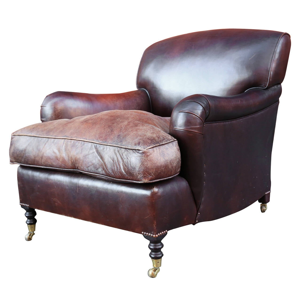 George Smith Leather Armchair 1
