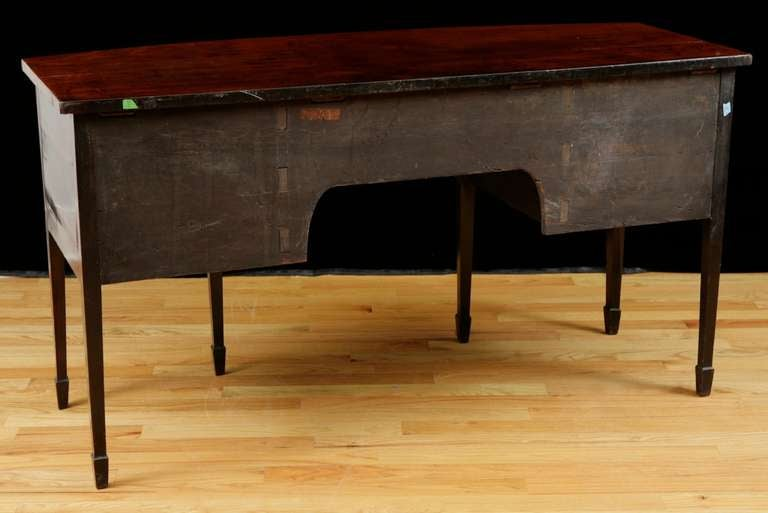 English George III Bow-Front Huntboard or Sideboard in Mahogany, circa  1775 For Sale 4