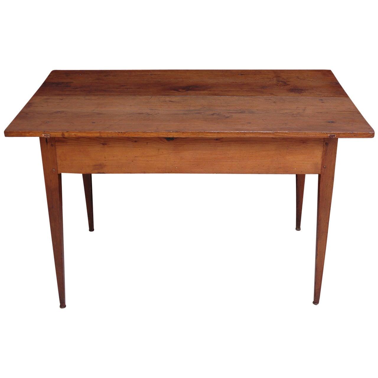 18th Century Pine Table