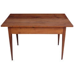 18th Century Country French Pine Table Kitchen Work Table