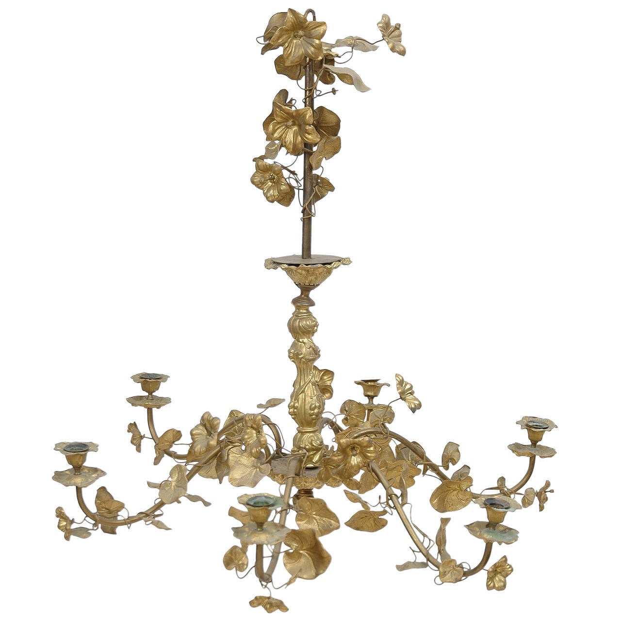 19th Century Belle 201 Poque Chandelier At 1stdibs