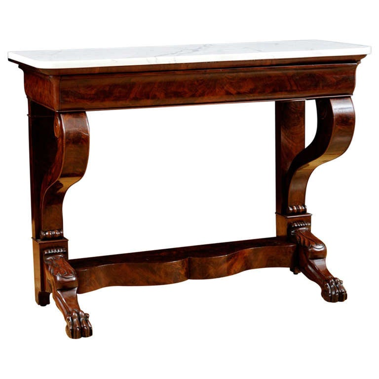 Charles x console table france circa 1825 at 1stdibs for Furniture 1825