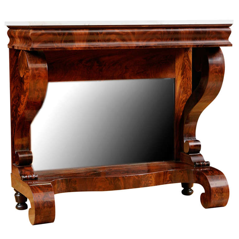 American Empire Pier Table, Circa 1825 1