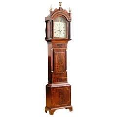 Tall Case Grandfather Clock by Nathaniel Edgecombe, Bristol, England, circa 1835
