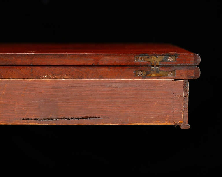 American Federal Bostonian Game Table , circa 1815 For Sale 3
