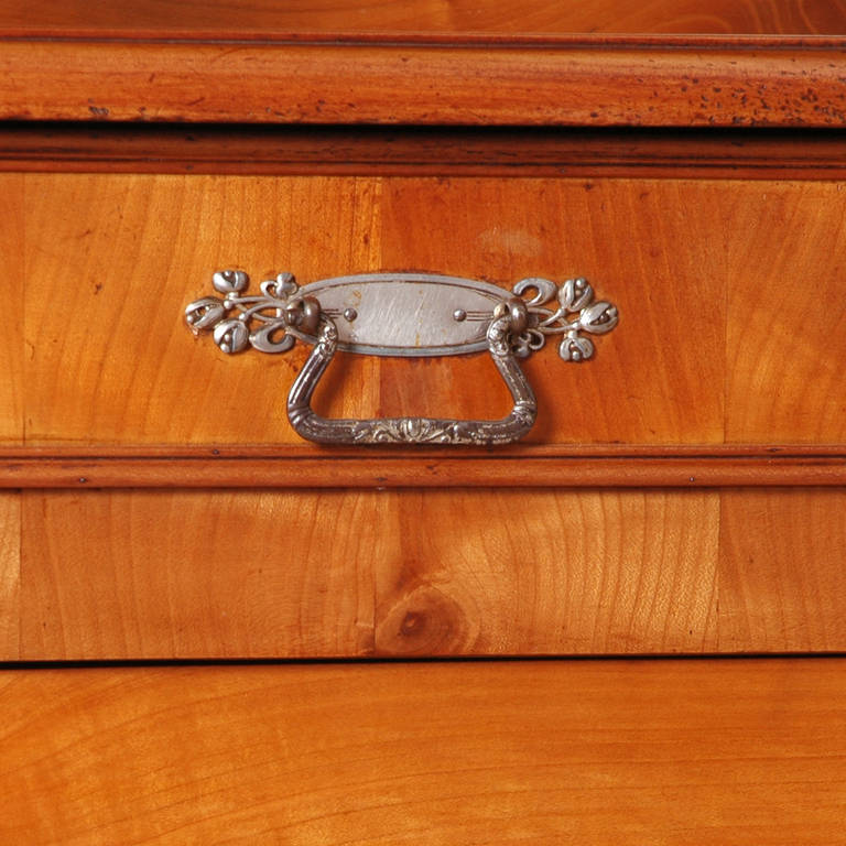 19th Century French Louis Philippe Buffet a Deux Corps in Cherry, circa 1840 For Sale