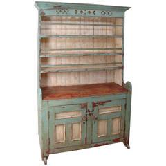 English Pewter Cupboard, circa 1820