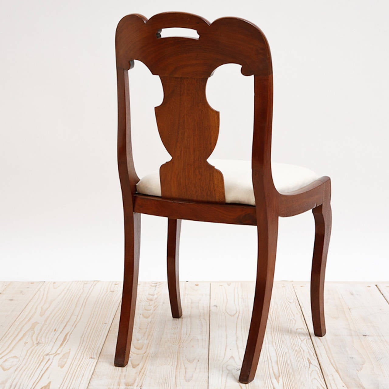 Set Of Six American Empire Dining Chairs Circa 1830 For Sale 1